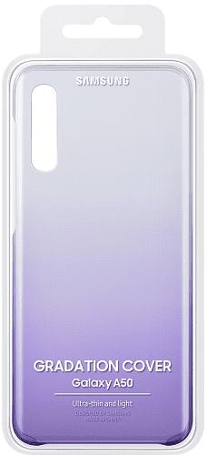 Samsung Gradation Cover zadní kryt pro Samsung Galaxy A50, fialová