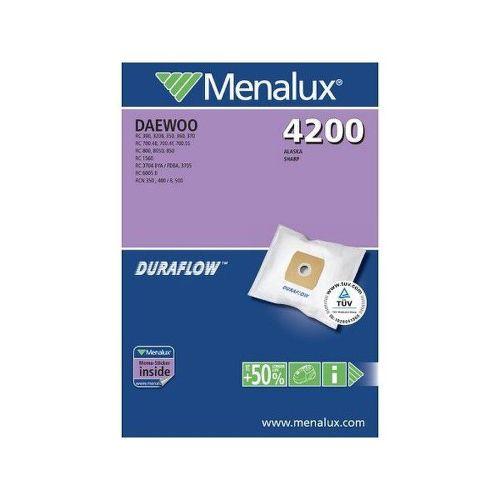MENALUX 4200, sacky do vysavaca