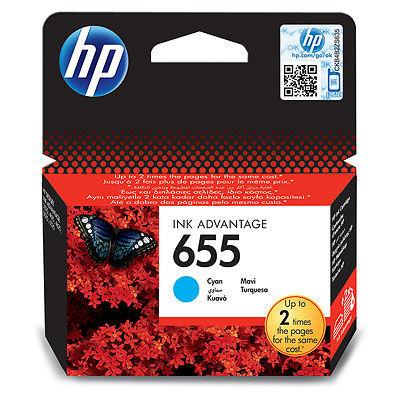 HP CZ110AE CYAN náplň No.655 Blister