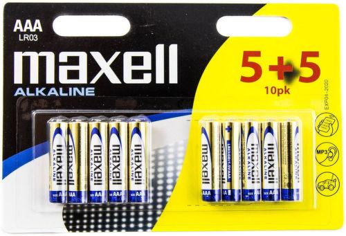 MAXELL LR03 10BP, Batérie