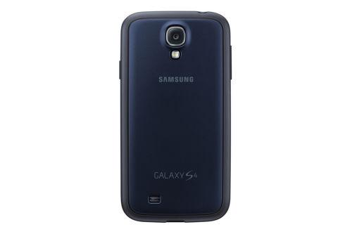 SAMSUNG zadný kryt EF-PI950BN pre Galaxy S4 (i9505), tmavo modrá