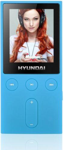 Hyundai MPC 501 4GB FM - MP3/MP4 přehrávač (modrý)