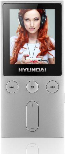 Hyundai MPC 501 8GB FM - MP3/MP4 přehrávač (stříbrný)