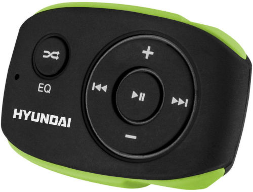 Hyundai MP 312 4GB - MP3 přehrávač (zeleno-černý)