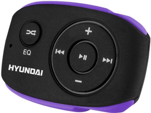 Hyundai MP 312 8GB - MP3 přehrávač (černo-fialový)