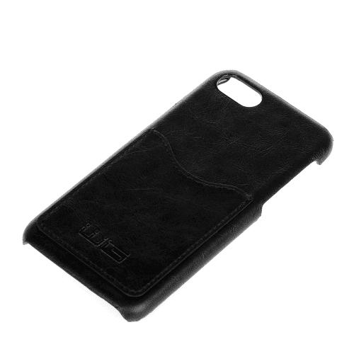 Winner iPhone 7 černé kožené pouzdro