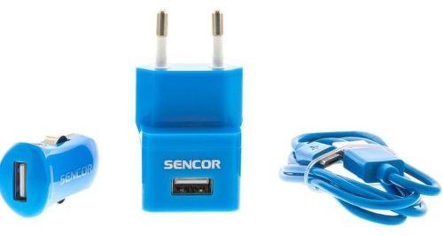 SENCOR SCO 515-000BL, USB nabíjací set