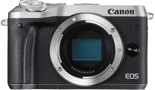 Canon EOS M6 stříbrná + EF-M 15-45mm IS STM