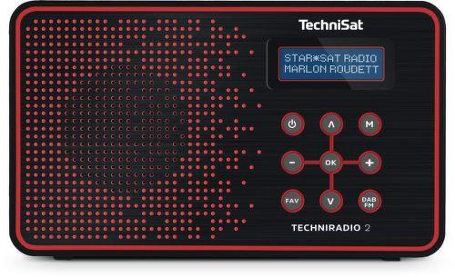 TechniSat TechniRadio 2 DAB (červené)