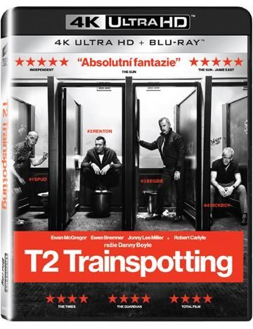 Bonton T2 Trainspotting Ultra HD+Blu-ray film