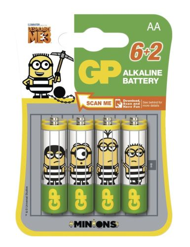 GP LR6 AA Minion 8