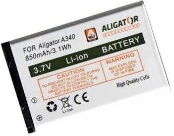 ALIGATOR A340V600 850mAh, Baterie