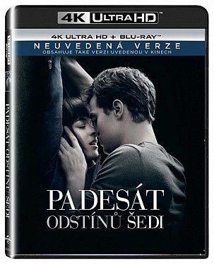 50 odstínů šedi 2xBD (Blu-ray + 4K UHD film)