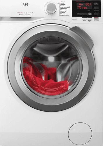 AEG ProSense L6FBG68SC bílá pračka plněná zepředu