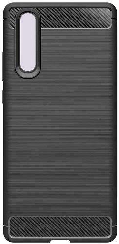 Winner Carbon pouzdro pro Huawei P30, černá