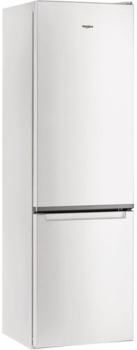 Whirlpool W5 921C W, bílá kombinovaná chladnička