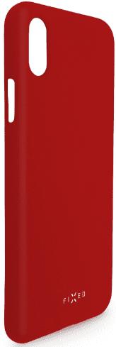 Fixed Story silikonový zadní kryt pro Huawei P30, červená