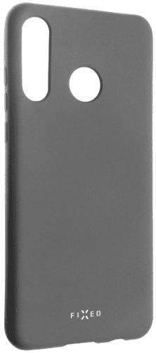 Fixed Story silikonový zadní kryt pro Huawei P30 Lite, šedá
