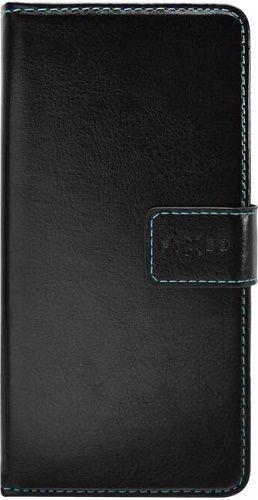Fixed Opus knižkové puzdro pre Huawei Y6 2019, čierna