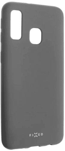 Fixed Story silikonový zadní kryt pro Samsung Galaxy A40, šedá