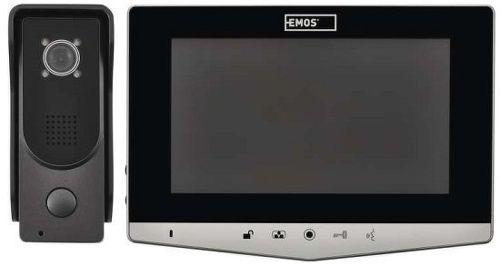 Emos H2030 videotelefon stříbrný