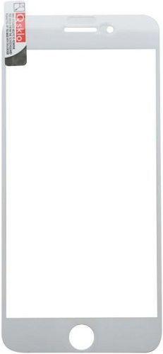 Q sklo 2,5D tvrzené sklo pro Apple iPhone 8+/7+, bílá