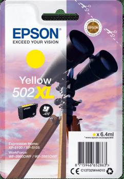 EPSON single 502 YELLOW XL