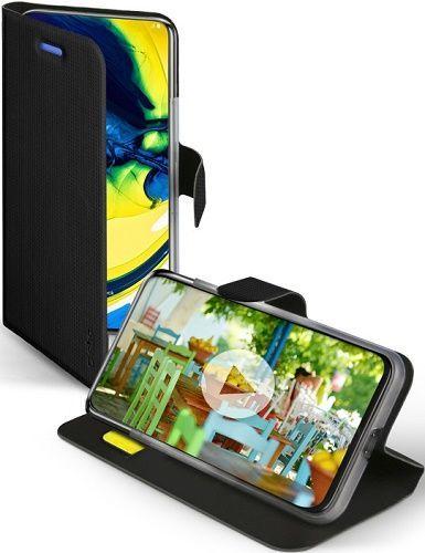 SBS Sense flipové pouzdro pro Samsung Galaxy A90/A80, černá
