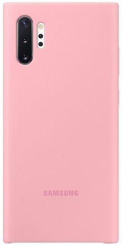 Samsung silikonové pouzdro pro Samsung Galaxy Note10+, růžová