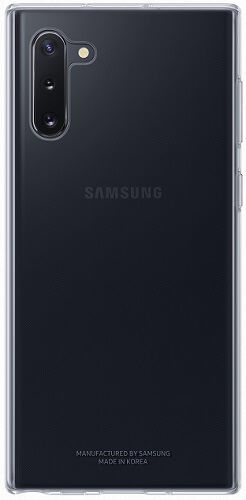 Samsung Clear Cover pouzdro pro Samsung Galaxy Note10, transparentní