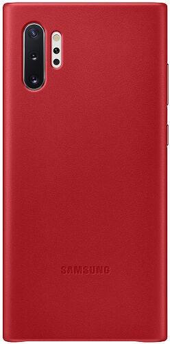 Samsung Leather Cover pro Samsung Galaxy Note10+, červená