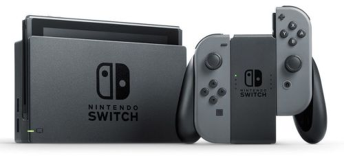 Nintendo Switch v2 šedá
