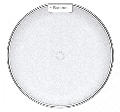 Baseus iX bezdrátová Qi nabíječka, stříbrná