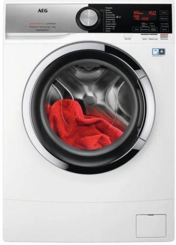 AEG L6SE26CC, bílá slim pračka plněná shora