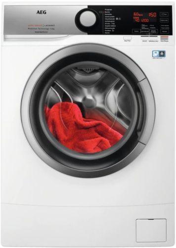 AEG L6SE26SC, bílá slim pračka plněná spredu