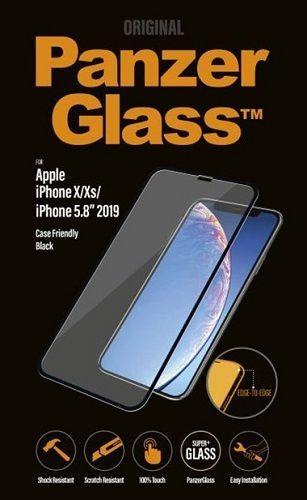 PanzerGlass Case Friendly tvrzené sklo pro Apple iPhone 11 Pro/Xs/X, černá