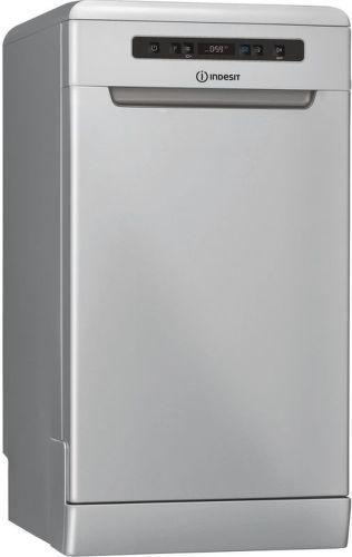 Indesit DSFO 3T224 C S, stříbrná myčka nádobí