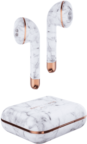 HAPPY PLUGS Air 1 - WHI Marble