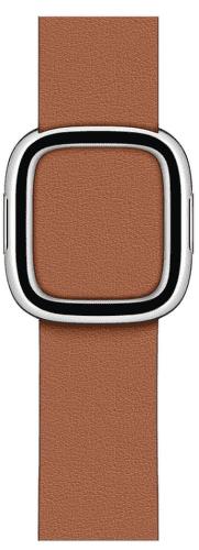 Apple Watch 40 mm kožený řemínek s magnetickou přezkou střední, sedlově hnědý