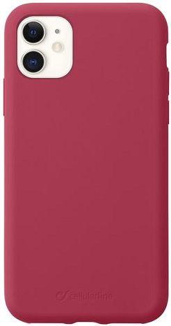 CellularLine Sensation silikonové pouzdro pro Apple iPhone 11, červená