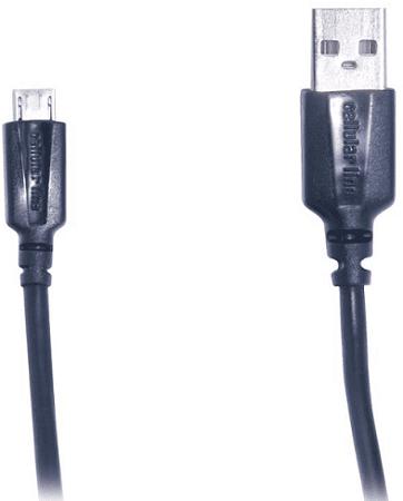CellularLine micro USB kabel 1,2 m, černá