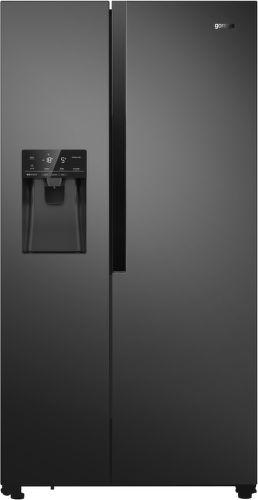 GORENJE NRS9182VB, černá americká chladnička