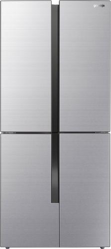 GORENJE NRM8181MX, nerezová americká chladnička