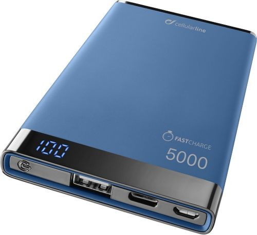 CellularLine Freepower Manta S 5000 mAh powerbanka, modrá