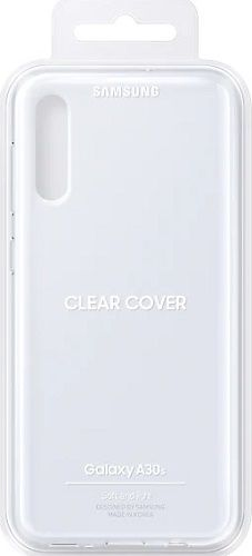 Samsung Clear Cover pro Samsung Galaxy A30s, transparentní