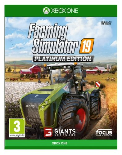 Farming Simulator 19 Platinum Edition Xbox One hra