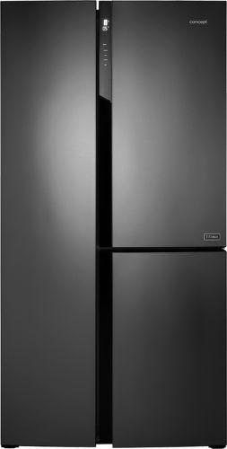 CONCEPT LA7791ds, titánová americká chladnička