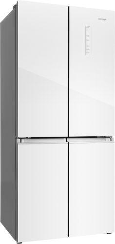 CONCEPT LA8783wh, bílá americká chladnička