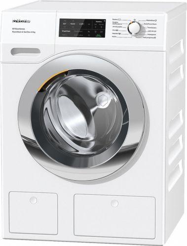 MIELE WEI 875 WPS, bílá smart pračka plněná zepředu