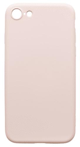Mobilnet gumové pouzdro pro Apple iPhone 8, béžová